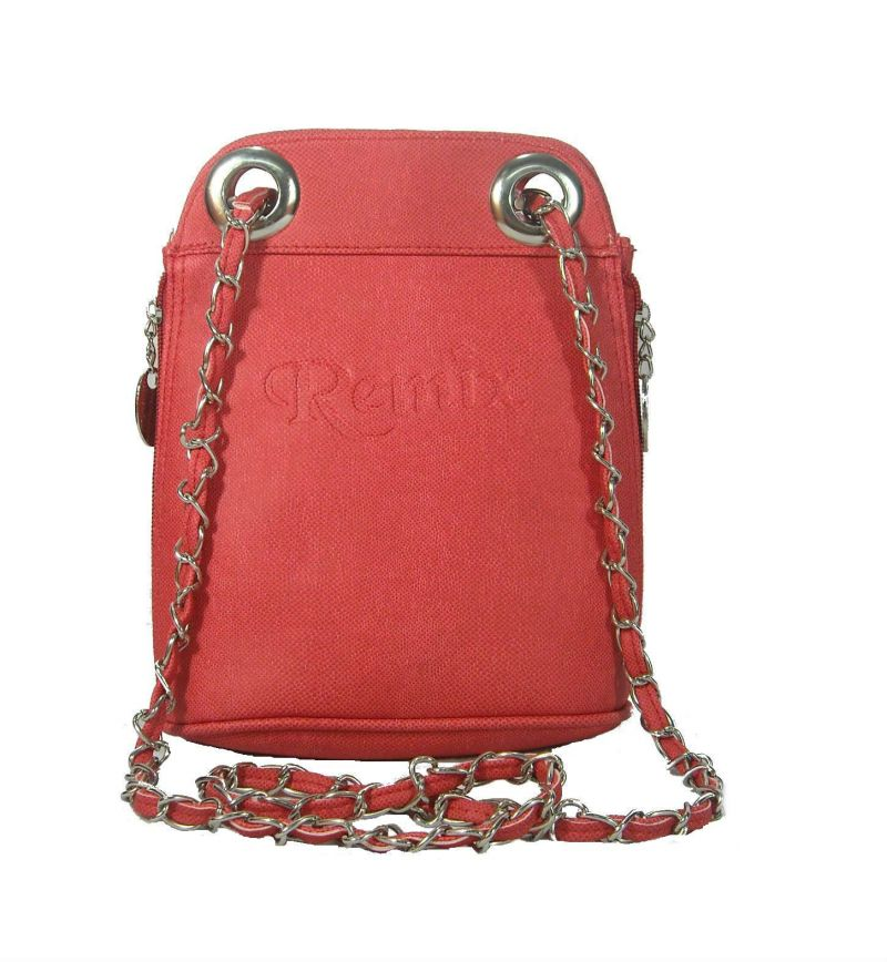 Buy Estoss Red Sling Bag For Womens With Metal Chain Online | Best ...