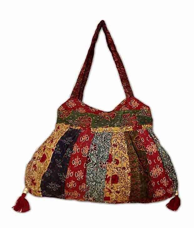 Buy Estoss Mest1419 Multicolor Ethnic Handbag online