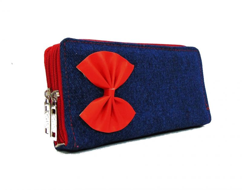Buy Estoss Mest2210 Blue Denim Pouch Clutch online