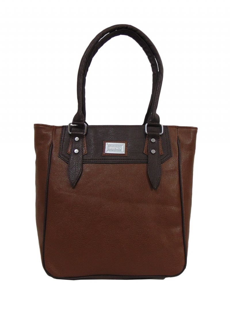 Buy Estoss Brown Handbag online