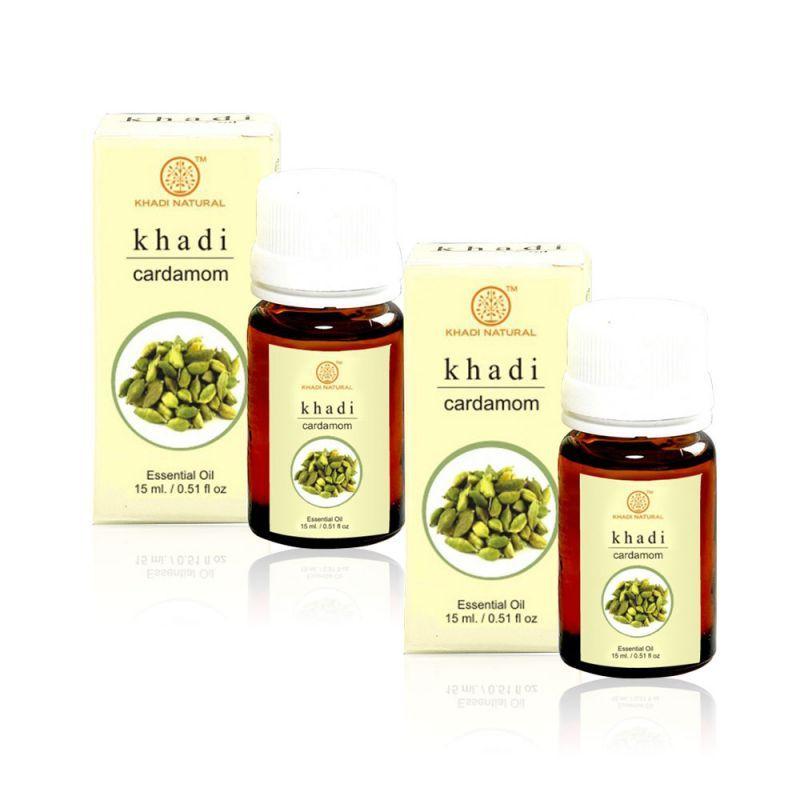 Buy Khadi Natural Cardamom Essential Oil - 15ml (set Of 2) (code - 2000201510923743) online