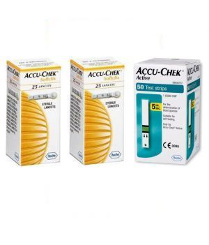 Buy Active Test Strip 50 Strips With 50 Softclix Lancets online
