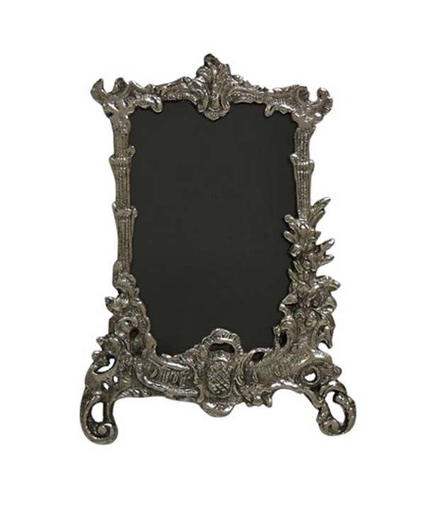 Buy Grj India Antique Photo Frame - Oxidized Silver Online | Best ...