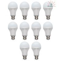 Buy LED Bulb Energy Saver 5 Watt (pack Of 10) online