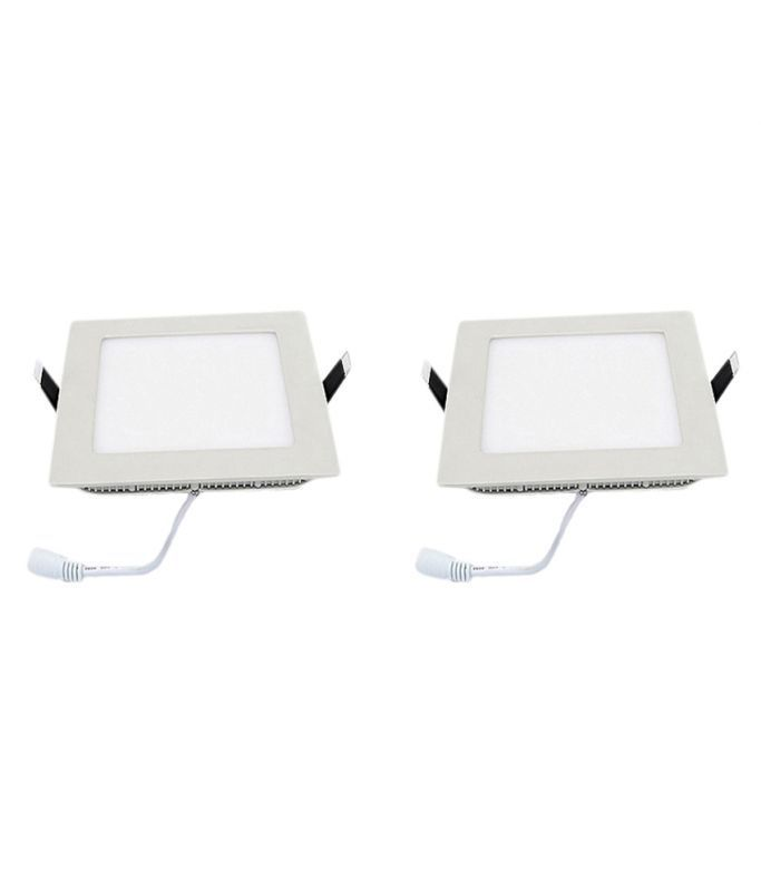 Buy Square Ceiling LED Panel Light - 18 W (pack Of 2 Pcs) online