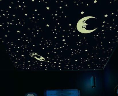Kids Bedroom At Night buy night glow star galaxy for kids bedroom ceiling online | best