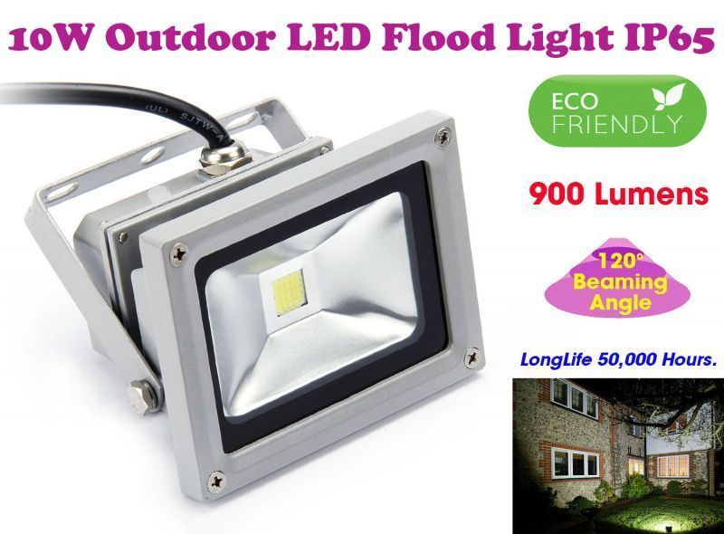 Buy Gadget Hero's 10w LED Outdoor Flood Light White Focus Waterproof online