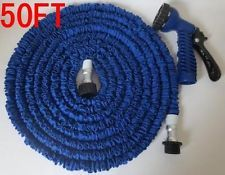 Buy 50 Feet Expandable Garden Hose Multi Functional Spray Gun 15 M Water Hose online