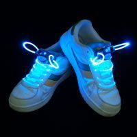 Buy LED Neon Laser Lights Flashing Shoelace Shoe Lace! Fits All online