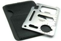 Buy 11 In 1 Pocket Tool Multifunction Pocket Survival Credit Card Size Tool Kit online