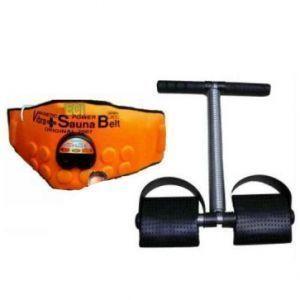 Buy 3 In 1 Sauna Vibration Vibrating Belt Plus Tummy Trimmer online