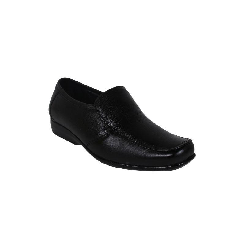 Buy Leather King Genuine Leather Black Formal Shoes - (code -lk-mfs-58-bk) online