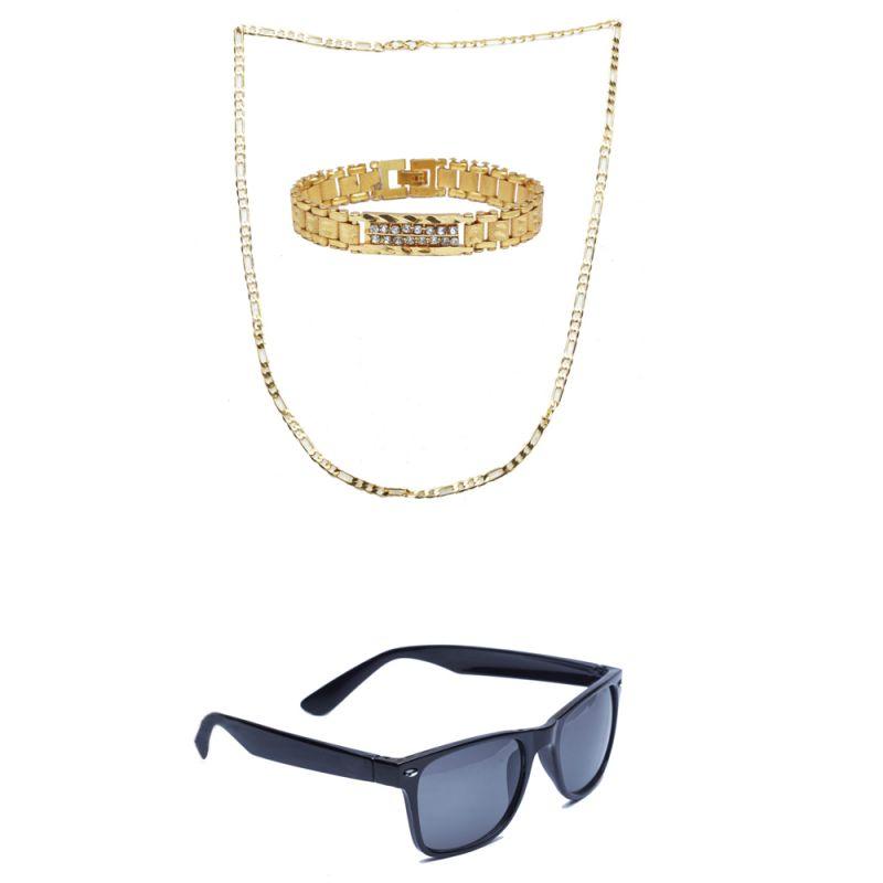 Buy Sondagar Arts Latest Bracelet Chain Glares Combo Offers For Men online