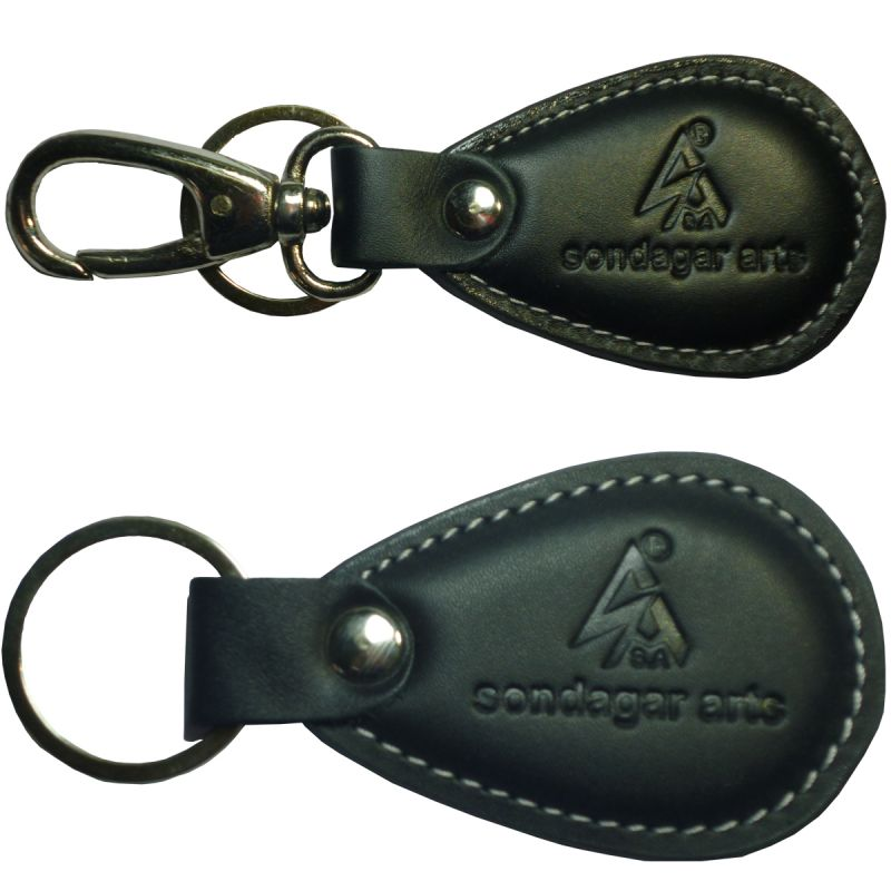 Buy Sondagar Arts Genuine Leather 2 Key Chain Combo online