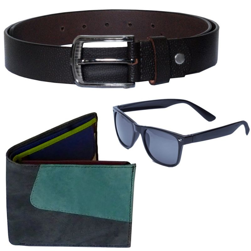 Buy Sondagar Arts Latest Belt Wallet Glares Combo Offers For Men online