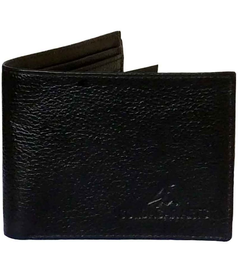 Buy Sondagar Arts Men's Classic Black Genuine Leather Wallets For Men online