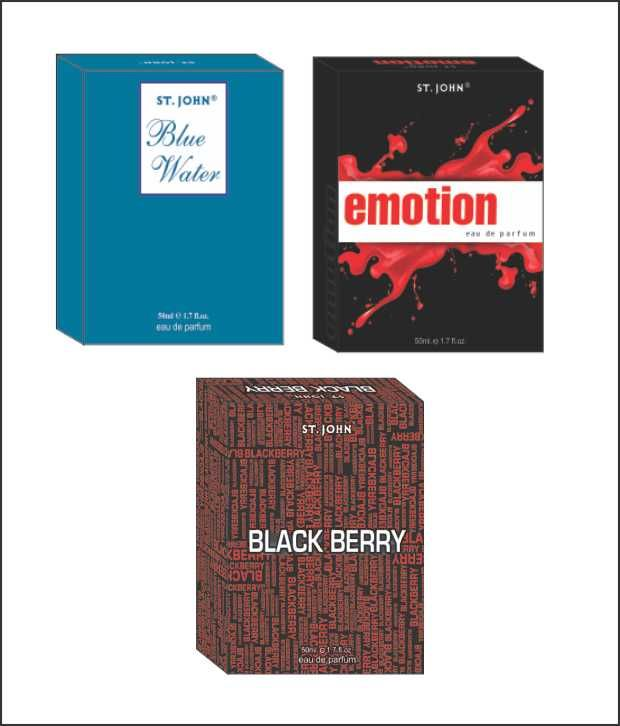 Buy St.Johnvijohn Emotions & Blue Water & Black Berry online