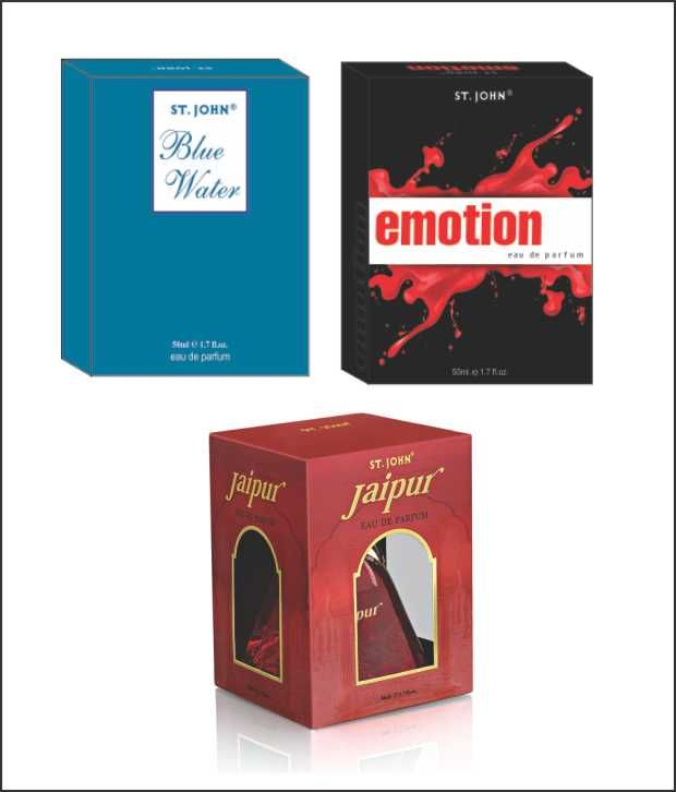 Buy St.Johnvijohn Emotions & Blue Water & New Jaipur With Taster online