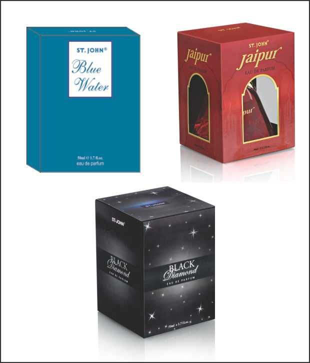 Buy St.Johnvijohn Blue Water & New Jaipur With Taster & Black Diamond With Taster online