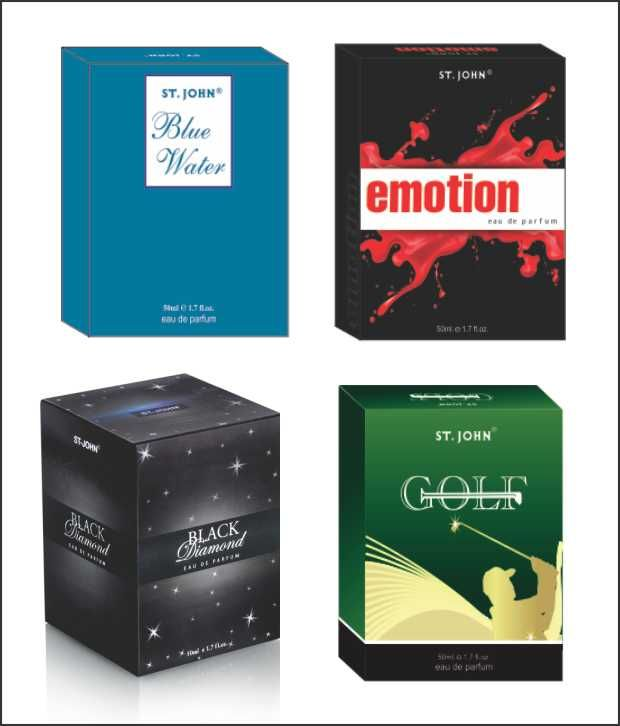 Buy St.Johnvijohn Emotions & Golf & Blue Water & Black Diamond With Taster online