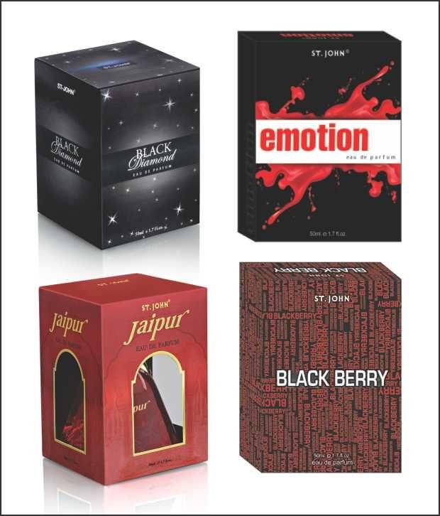 Buy St.john-vijohn Emotions & Black Berry & New Jaipur With Taster & Black Diamond With Taster-(code-vj163) online
