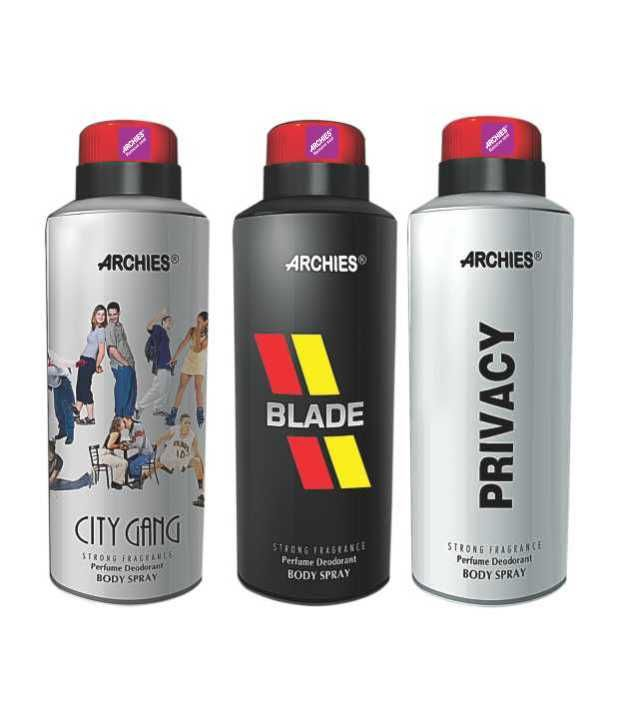 Buy Archies Deo City Gang & Blade & Privacy online