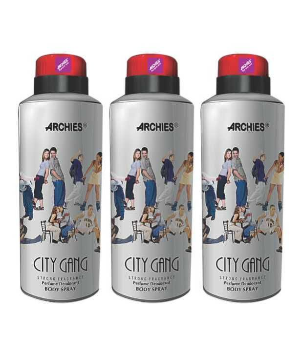 Buy Archies Deo City Gang (Set Of 3) online