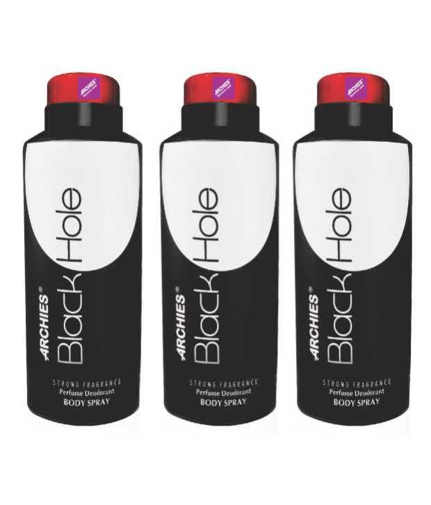Buy Archies Deo Black Hole (Set Of 3) online