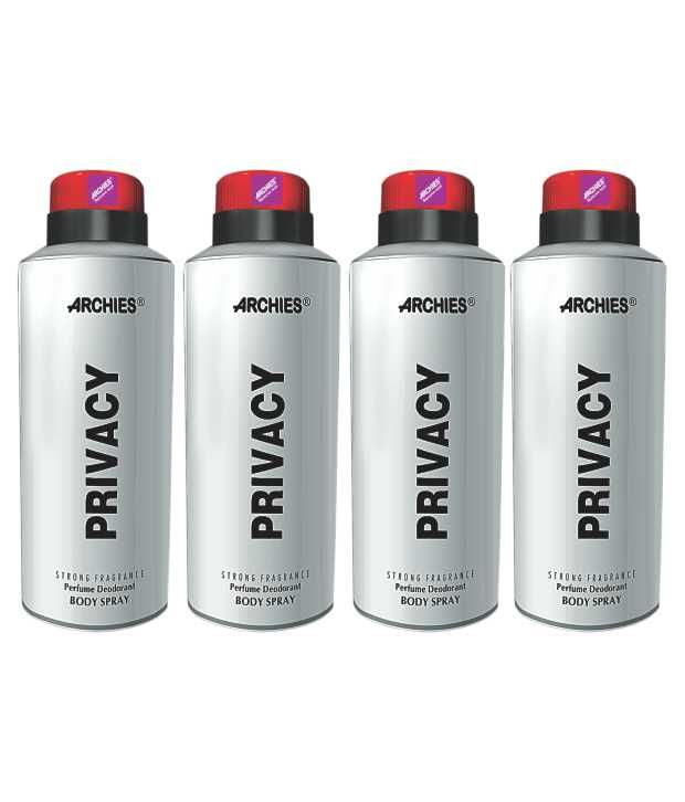 Buy Archies Deo Privacy (Set Of 4) online