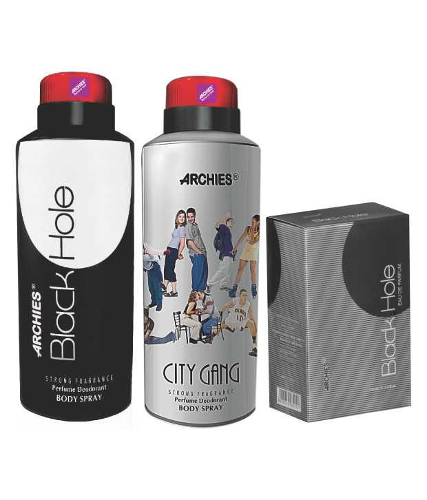 Buy Archies Deo City Gang & Black Hole   Perfume Black Hole online