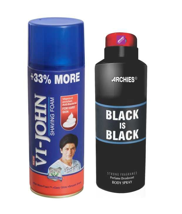 Buy Archies Deo Blade & Vijohn Shave Foam 400gm For Hard Skin-(code-vj772) online