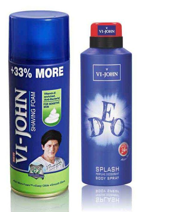 Buy St.Johnvijohn Shave Foam 400Gm For Sensitive Skin & Vijohn Deo Splash online