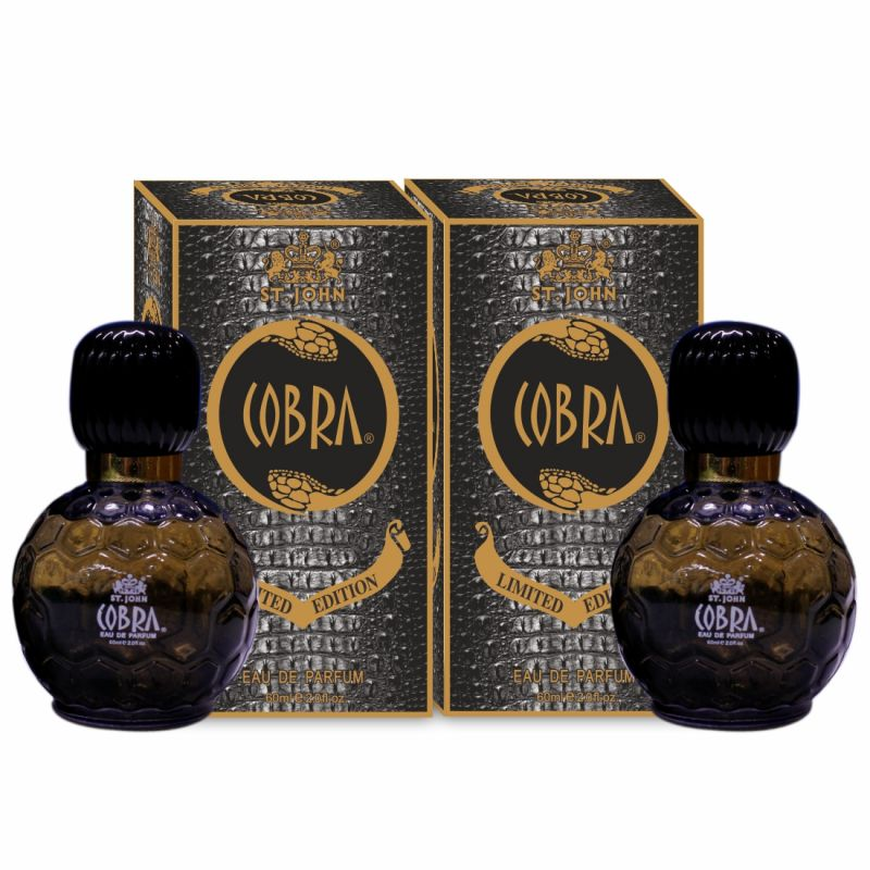 Buy Cobra Limited Edition Perfume For Men 60 Ml (pack Of 2) online