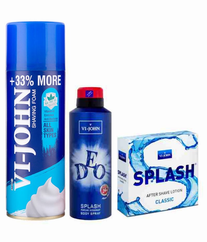 Buy St.Johnvijohn Shave Foam & Vijohn Deo Splash   After Shave Splash 50Ml online