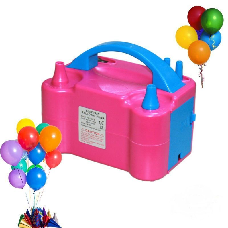 Buy High Power Electric Balloon Inflator Pump With 2 Nozzle online
