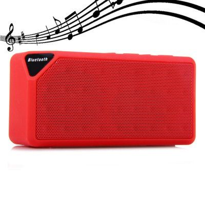 Buy Adcom Bluetooth Mobile Speaker X3(red) online