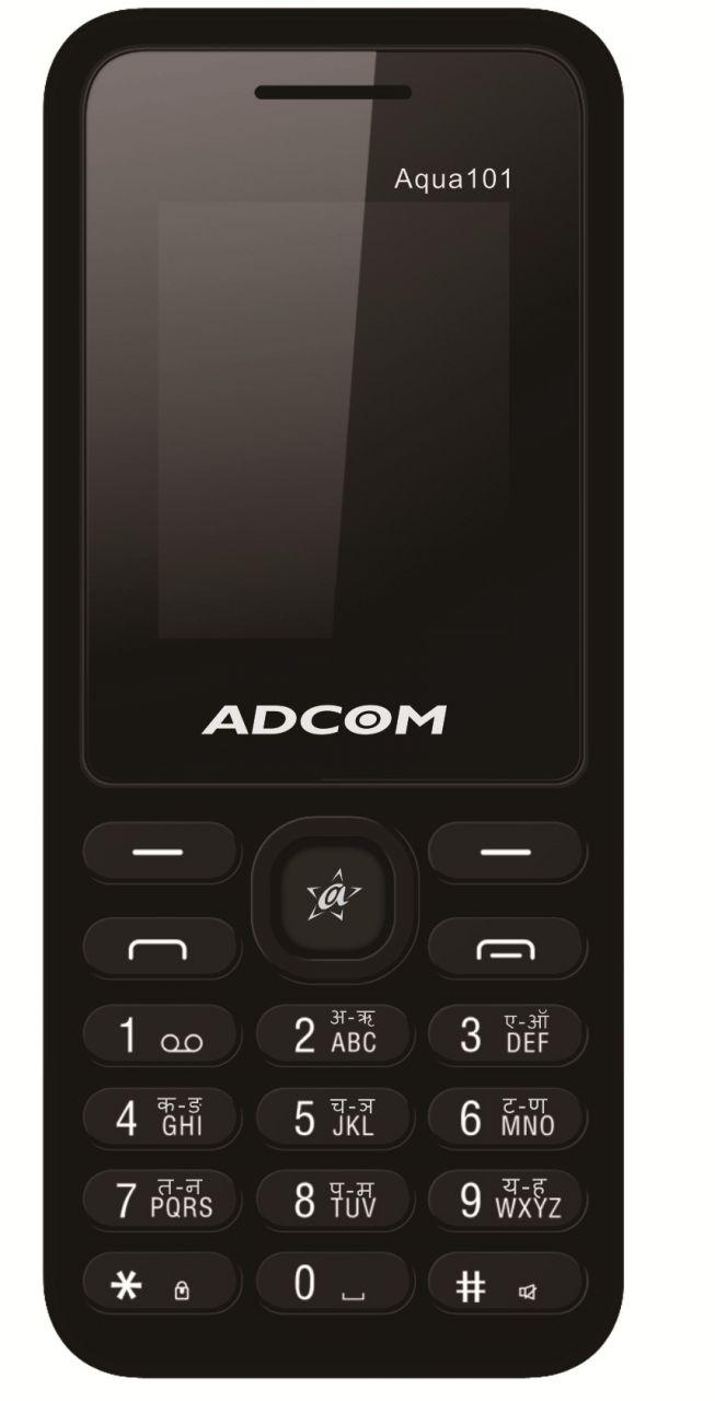 Buy Adcom Aqua 101 Dual Sim Mobile Phone_ Black online
