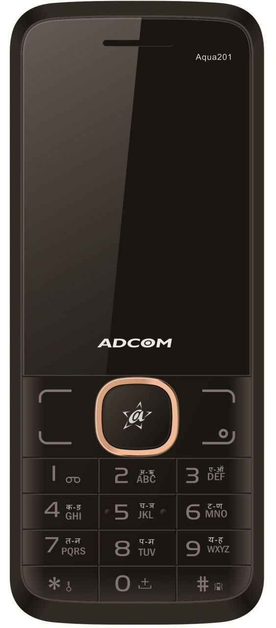 Buy Adcom Aqua 201 Dual Sim Mobile Phone_ Black &gold online