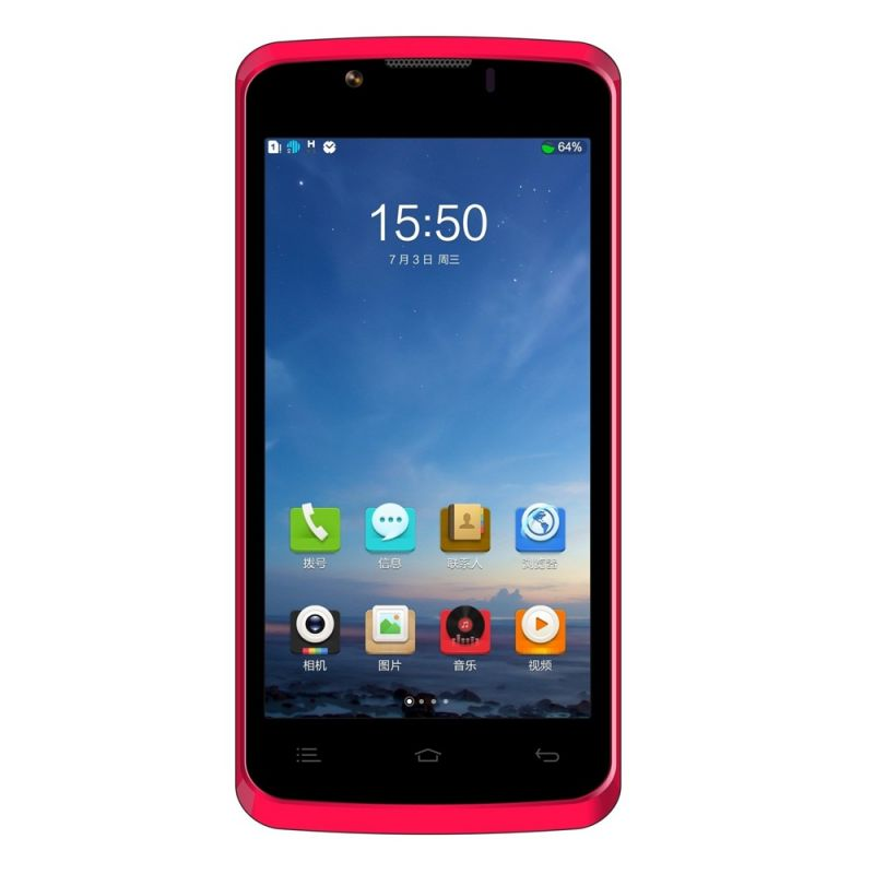 Buy Zopo Color Zp590 4.5 Inch Red online