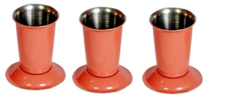 Buy Dynamic Store Set of 3 Red Warm Tooth pick holder online