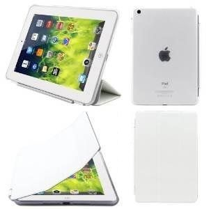 Buy Ultra Thin Magnetic Smart Case Clear Back Cover Stand For Apple Ipad Mini 2 Retina (white) online