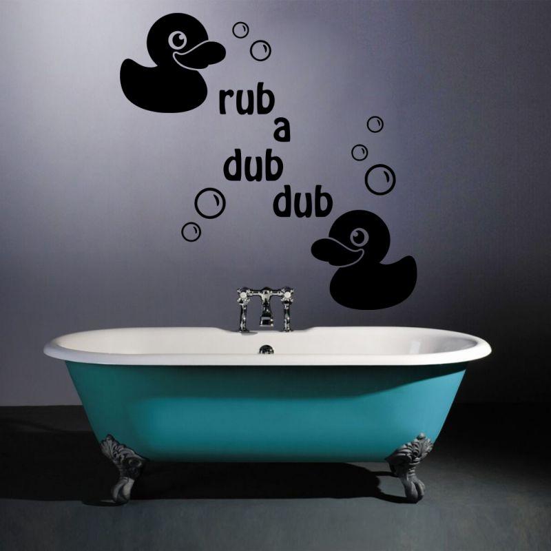 Buy Decor Kafe Decal Style Rub A Dub Dub Medium Wall Sticker online