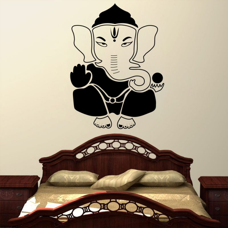 Buy Decor Kafe Decal Style Lord Ganesha Wall Sticker online