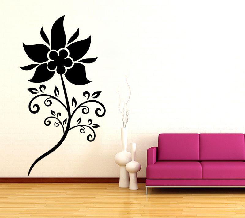 Buy Decor Kafe Decal Style Attractive Sunflower Wall Sticker online