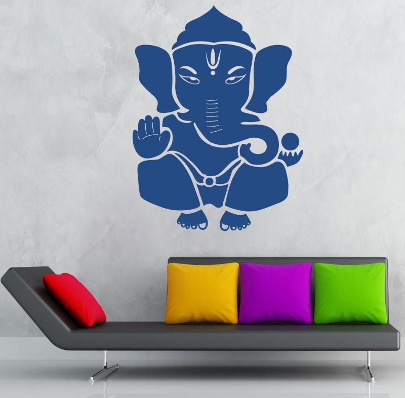 Buy Decor Kafe Decal Style Shree Ganesh Wall Sticker online