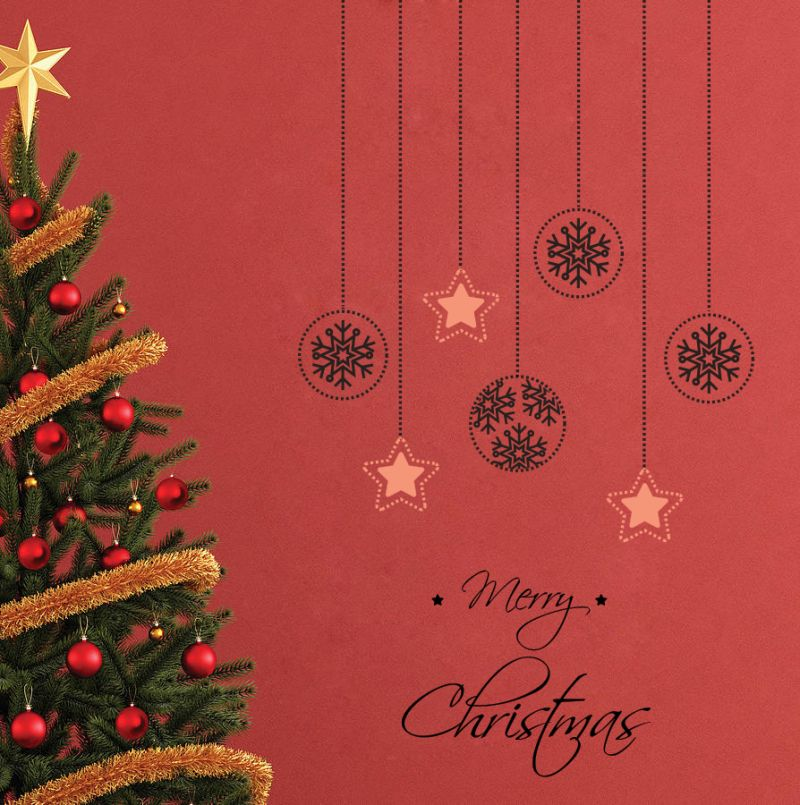 Buy Decor Kafe Decal Style Attractive Christmas Stars Wall Sticker online
