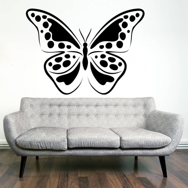 Buy Decor Kafe Decal Style Creative Butterfly Wall Sticker online