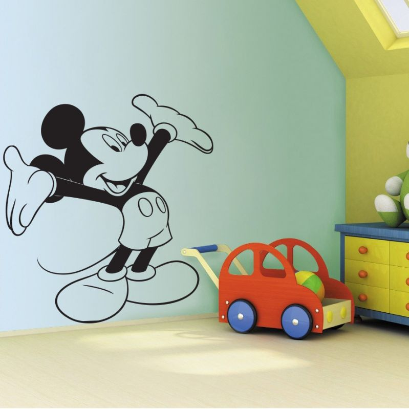 Buy Decor Kafe Decal Style Mickey Mouse Wall Sticker online