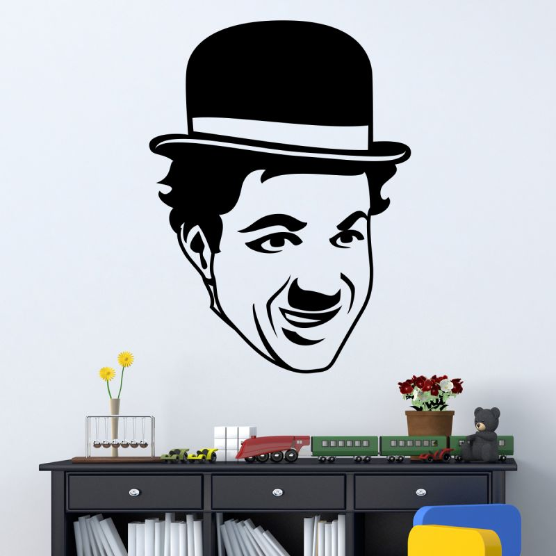 Buy Decor Kafe Decal Style Charlie Wall Sticker online