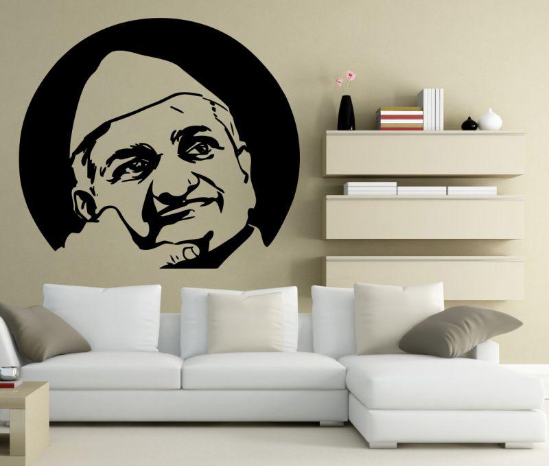 Buy Decor Kafe Decal Style Anna Hazaare Large Wall Sticker online
